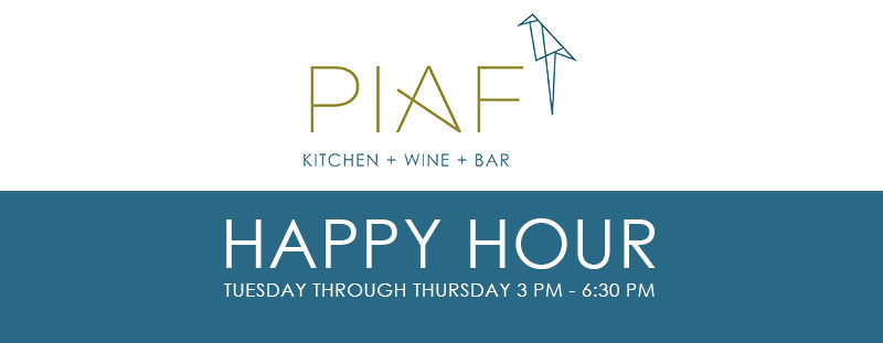Happy Hour at Piaf Kitchen